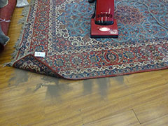 How do you clean a good carpet?