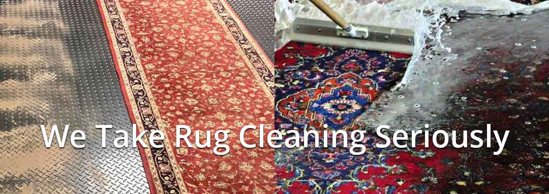 Excellent rug cleaning pick up